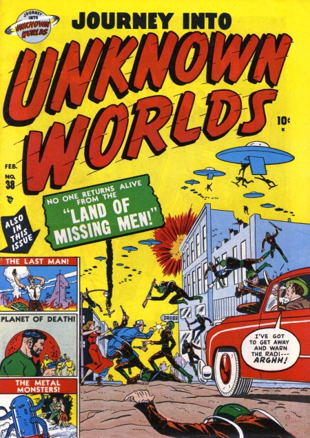 Journey Into Unknown Worlds 38(3) Cover Image