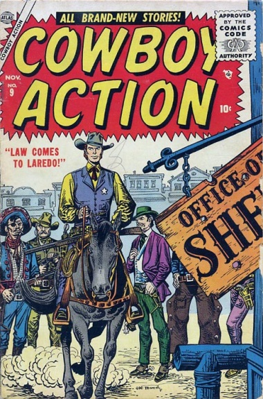 Cowboy Action 9 Cover Image