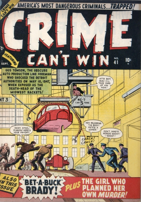 Crime Can't Win 41(1) Cover Image