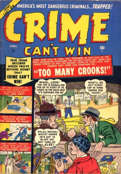 Crime Can't Win 4 Cover Image