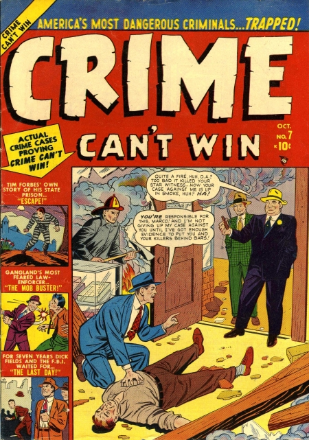 Crime Can't Win 7 Cover Image