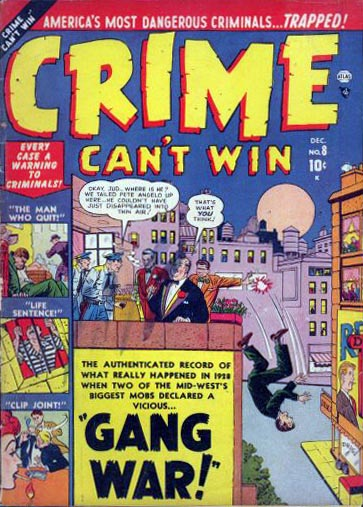 Crime Can't Win 8 Cover Image
