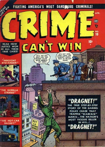 Crime Can't Win 10 Cover Image
