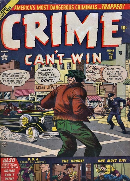 Crime Can't Win 11 Cover Image