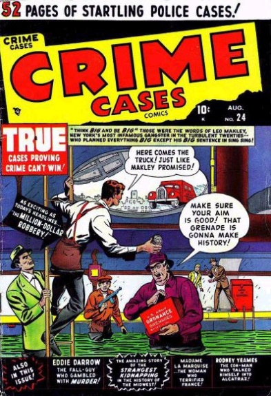 Crime Cases Comics 24(1) Cover Image