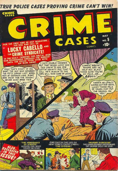 Crime Cases Comics 5 Cover Image