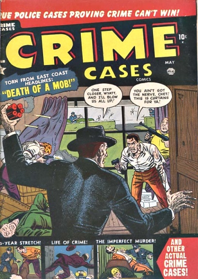 Crime Cases Comics 11 Cover Image
