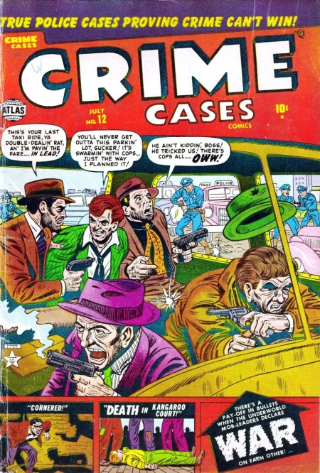 Crime Cases Comics 12 Cover Image