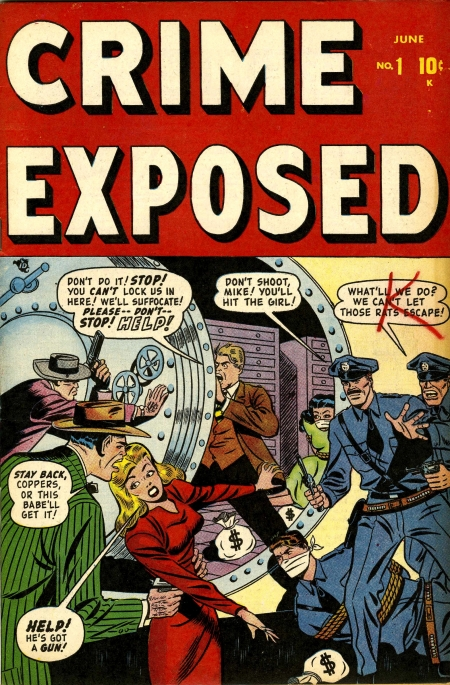 Crime Exposed 1 Cover Image