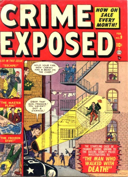 Crime Exposed  9 Cover Image
