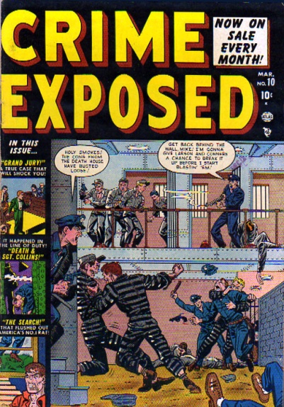 Crime Exposed  10 Cover Image