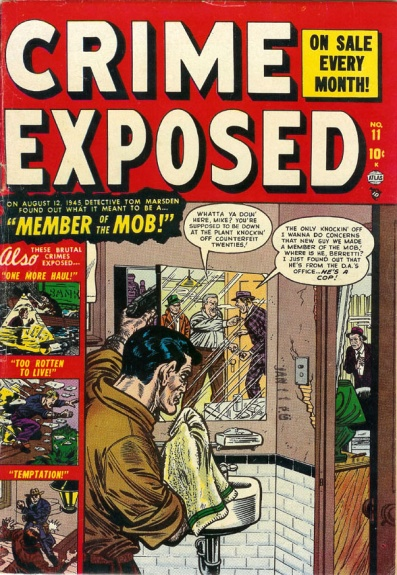 Crime Exposed  11 Cover Image