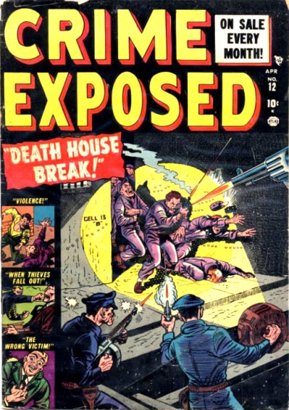 Crime Exposed  12 Cover Image