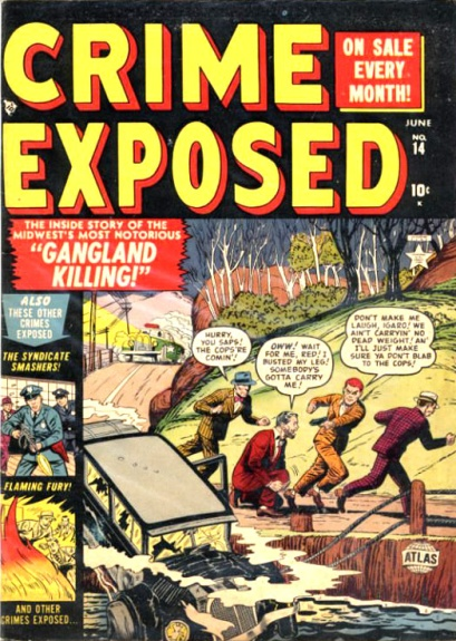 Crime Exposed  14 Cover Image
