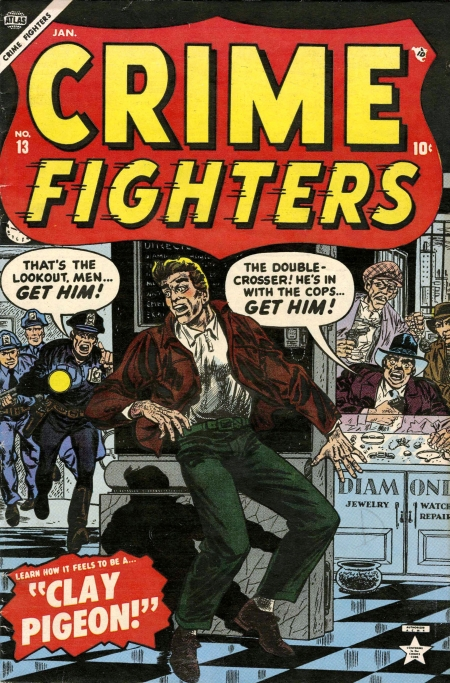 Crime Fighters 13 Cover Image