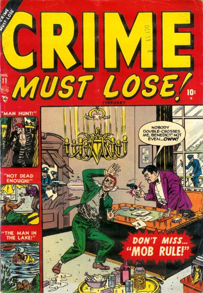 Crime Must Lose! 11 Cover Image