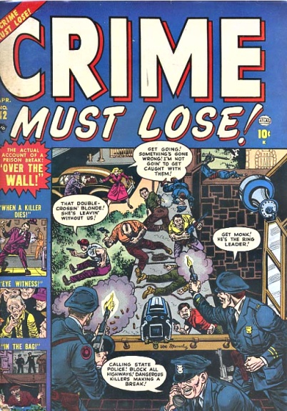 Crime Must Lose! 12 Cover Image