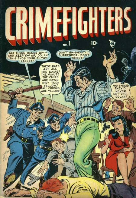 Crimefighters 1 Cover Image