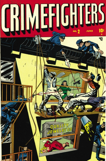 Crimefighters 2 Cover Image