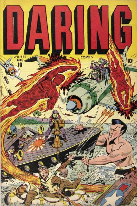 Daring Comics 10 Cover Image