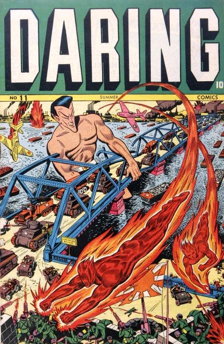 Daring Comics 11 Cover Image