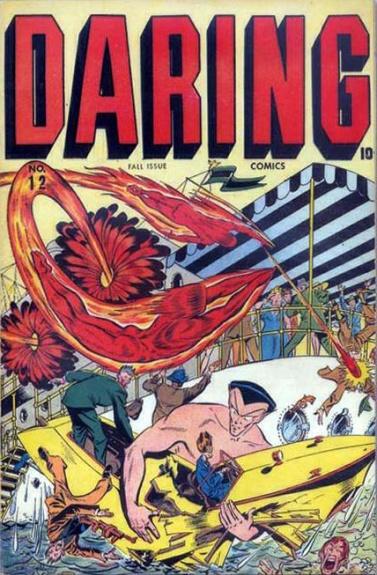 Daring Comics 12 Cover Image