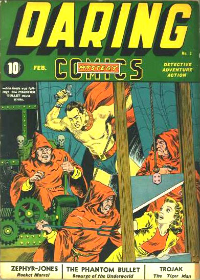 Daring Mystery Comics 2 Cover Image