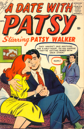 A Date with Patsy 1 Cover Image