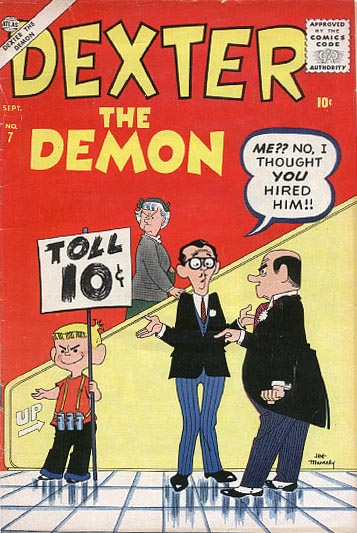 Dexter the Demon 7 Cover Image