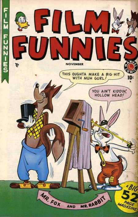 Film Funnies 1 Cover Image