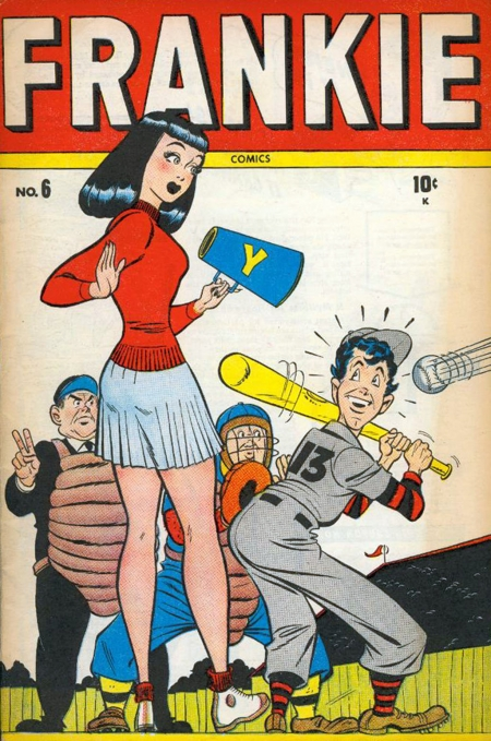Frankie Comics 6 Cover Image