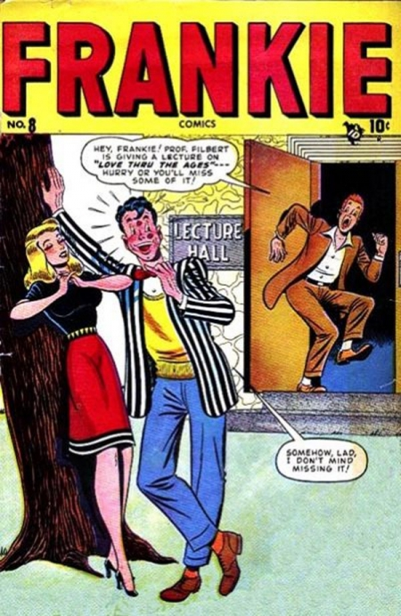 Frankie Comics 8 Cover Image