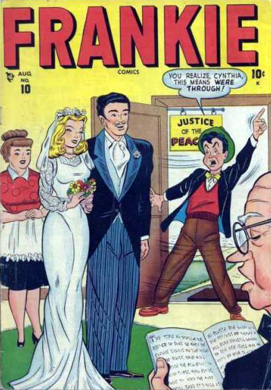 Frankie Comics 10 Cover Image