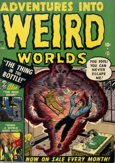 Adventures Into Weird Worlds 2 Cover Image