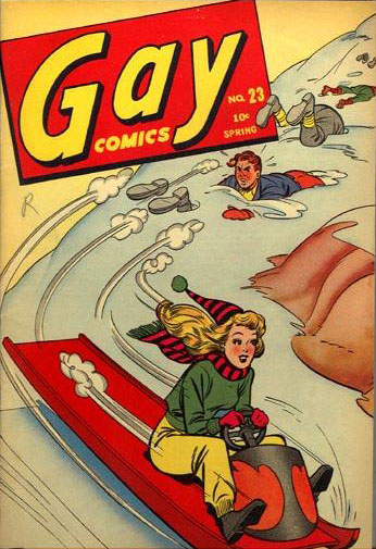 Gay Comics  23 Cover Image