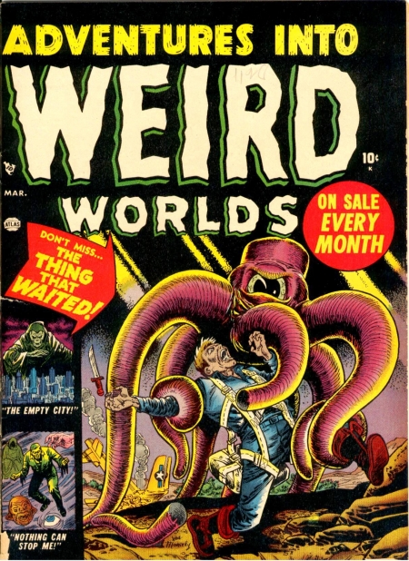 Adventures Into Weird Worlds 3 Cover Image