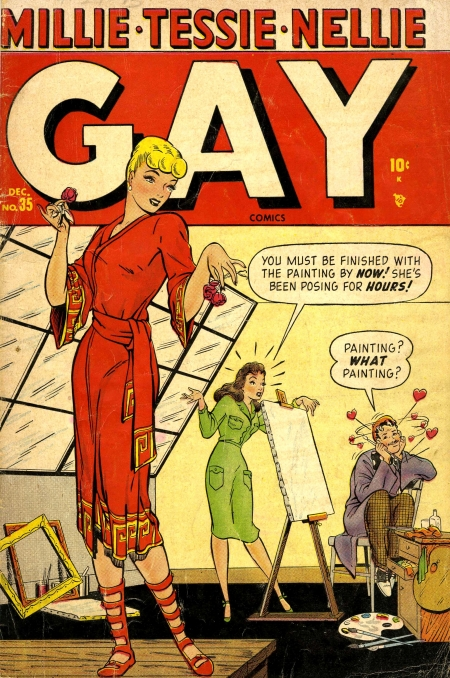 Gay Comics  35 Cover Image