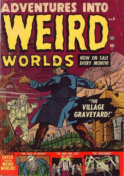Adventures Into Weird Worlds 4 Cover Image