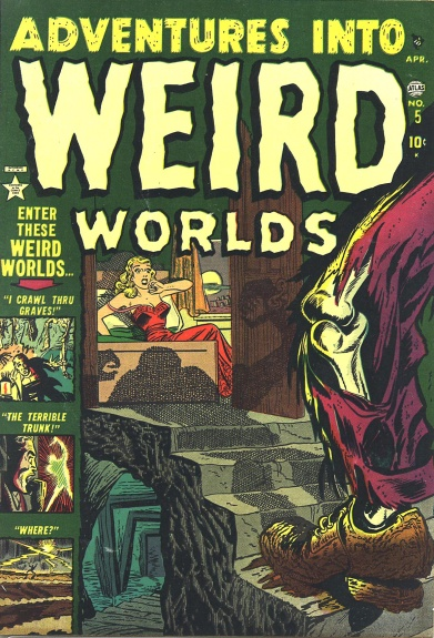 Adventures Into Weird Worlds 5 Cover Image