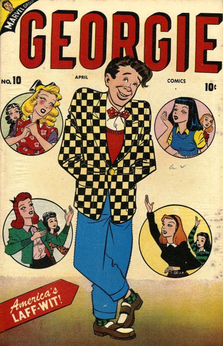 Georgie Comics 10 Cover Image