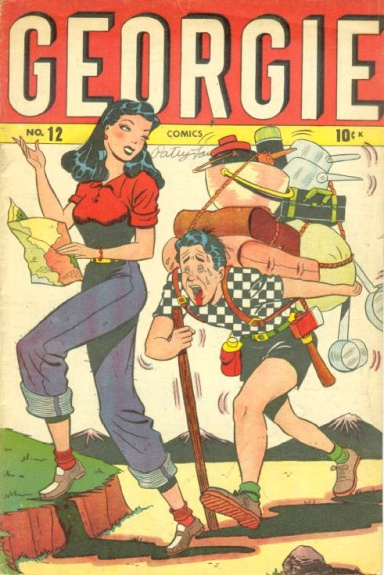 Georgie Comics 12 Cover Image