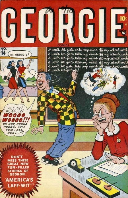 Georgie Comics 14 Cover Image