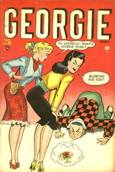 Georgie Comics 18 Cover Image