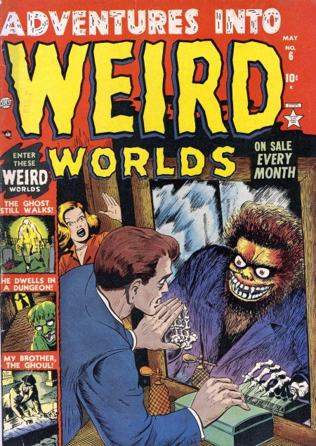 Adventures Into Weird Worlds 6 Cover Image