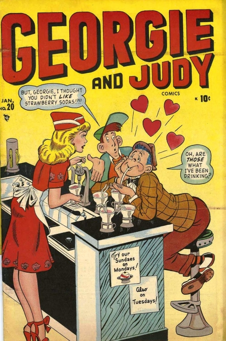 Georgie and Judy 20 Cover Image