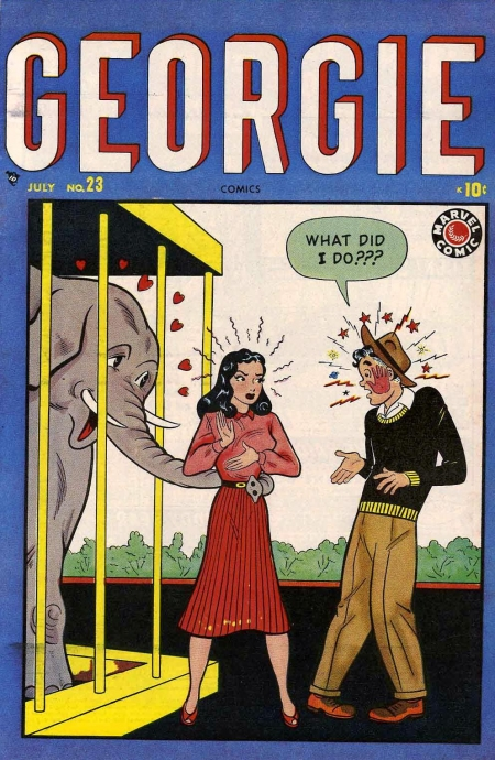 Georgie Comics  23 Cover Image