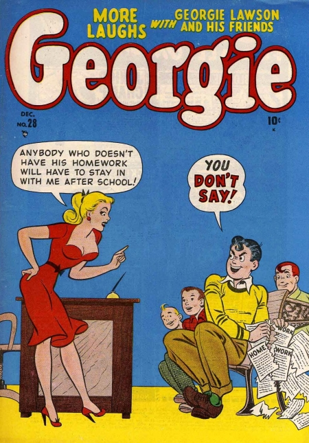 Georgie Comics  28 Cover Image