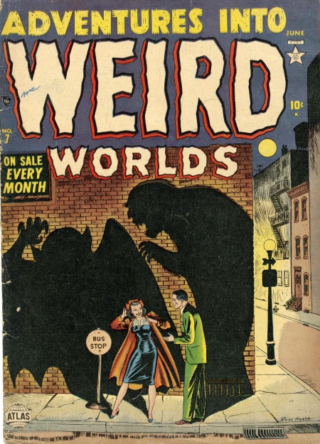 Adventures Into Weird Worlds 7 Cover Image