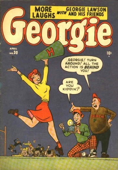 Georgie Comics  30 Cover Image