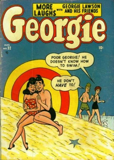 Georgie Comics  32 Cover Image